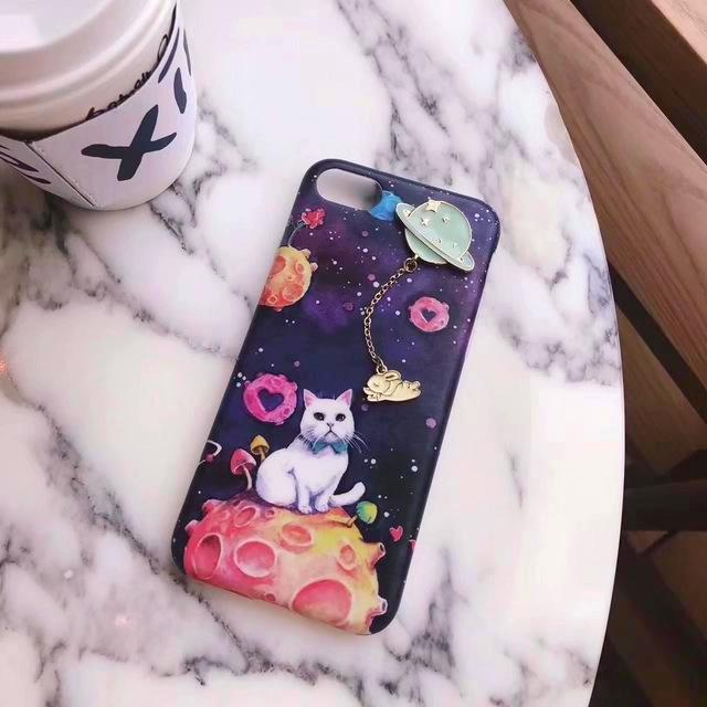 Special Cat & Universe iPhone Case