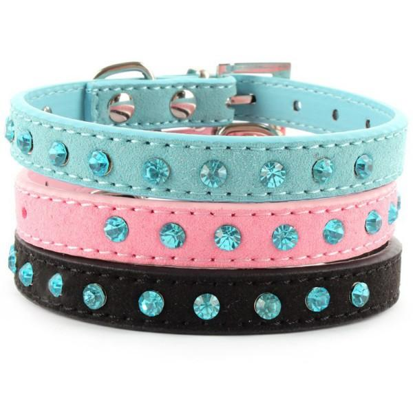 Small cat  PU Leather Collar