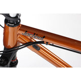"Jackpot 27.5"" Steel Hardtail Mountain Bike - Orange - Onza Bikes"