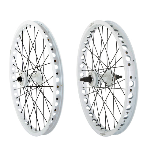 "Pro Wheel Set Open Bearing Front & Rear Disc 20"" / 19"" - Onza Bikes"