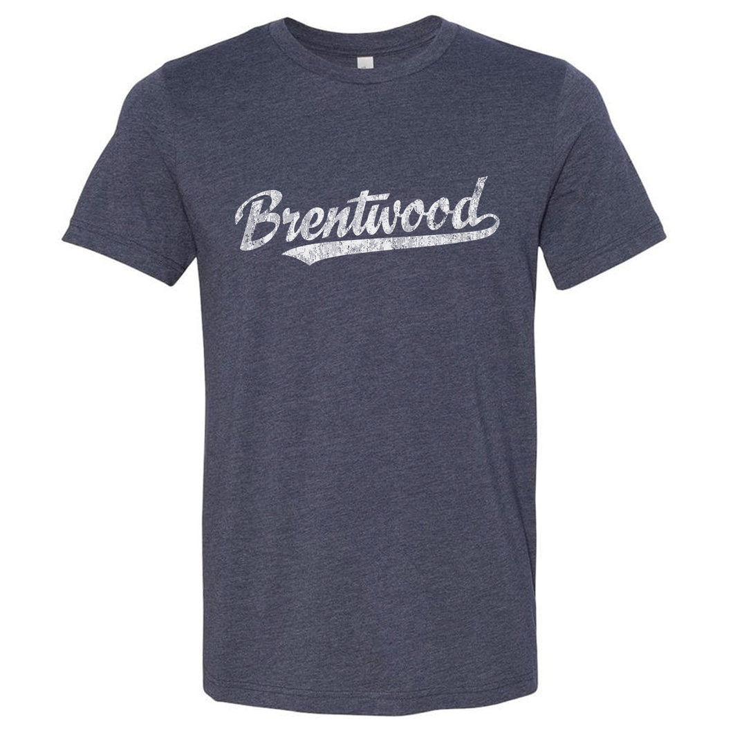 Brentwood Tennessee TN T-Shirt Vintage Baseball Script Sports Design