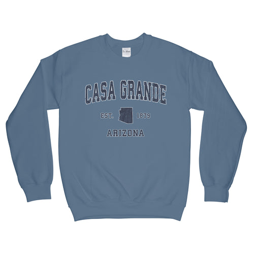 Casa Grande Arizona AZ Sweatshirt Vintage Sports Design Adult (Unisex)