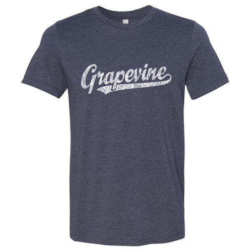 Grapevine Texas TX T-Shirt Vintage Baseball Script Sports Design