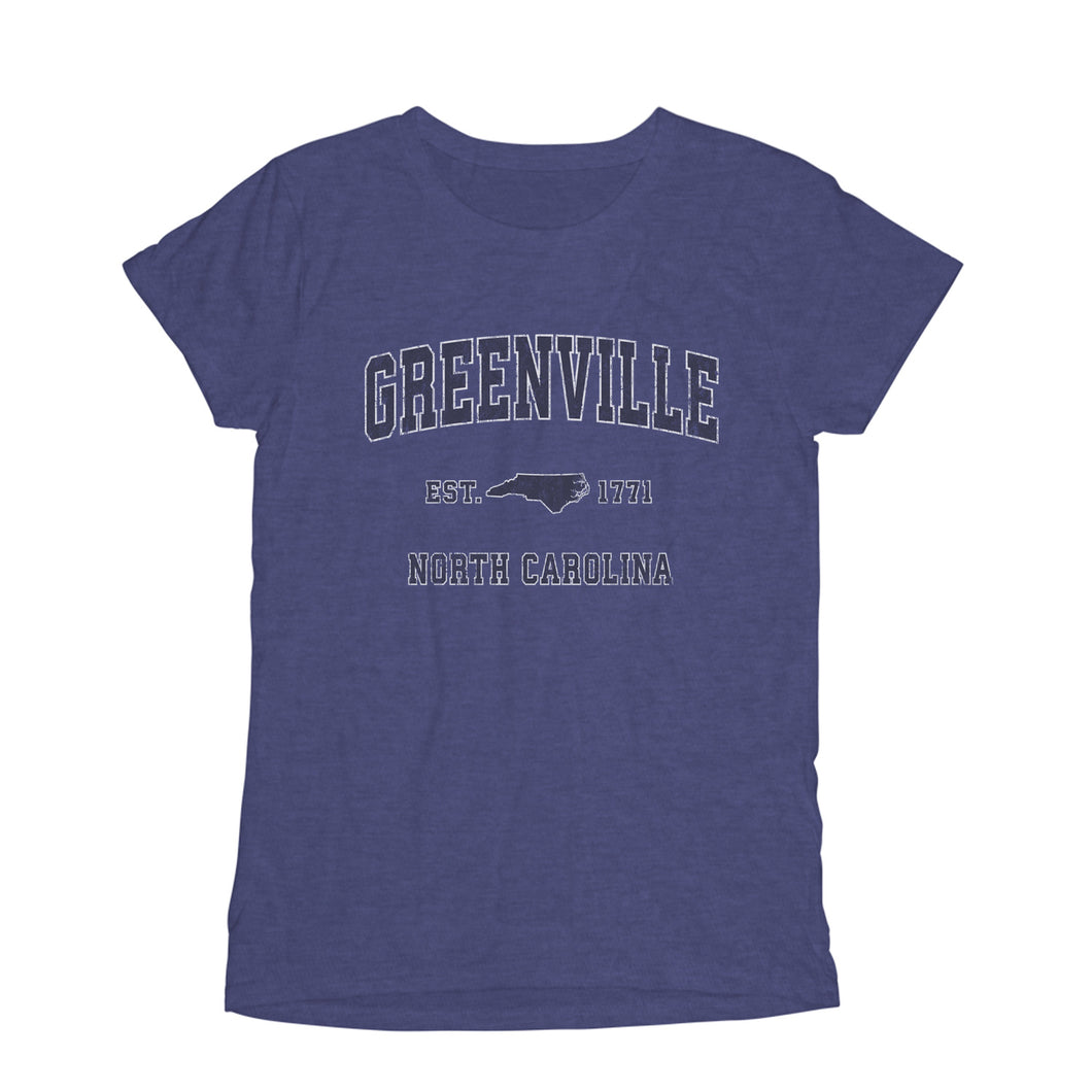 greenville north carolina nc womens t shirt