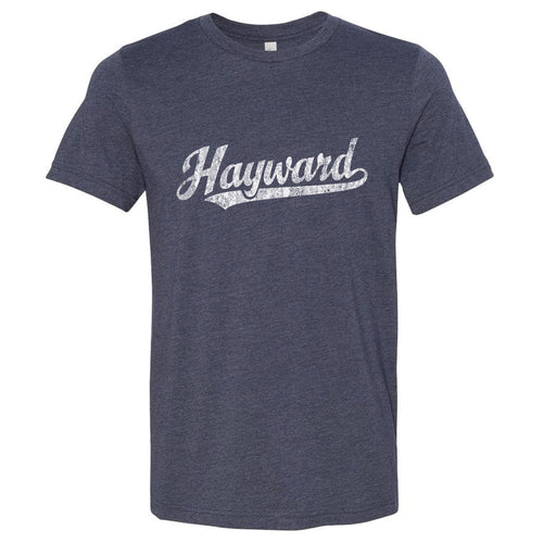 Hayward California CA T-Shirt Vintage Baseball Script Sports Design
