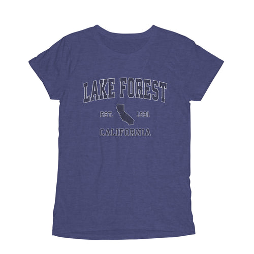 lake forest california ca womens t shirt