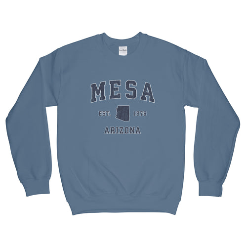 Mesa Arizona AZ Sweatshirt Vintage Sports Design Adult (Unisex)