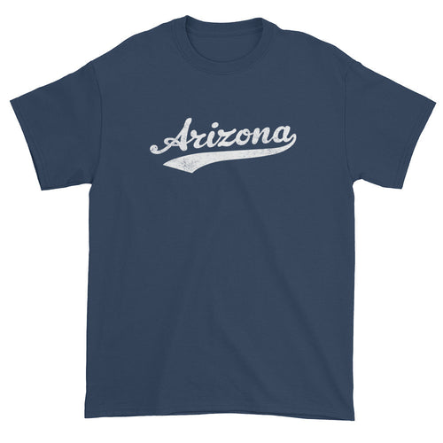Vintage Arizona AZ T-Shirt with Script Tail Design Adult - JimShorts