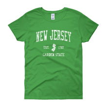 Vintage New Jersey NJ Women's T-Shirt - JimShorts