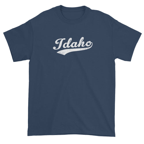 Vintage Idaho ID T-Shirt with Script Tail Design Adult - JimShorts