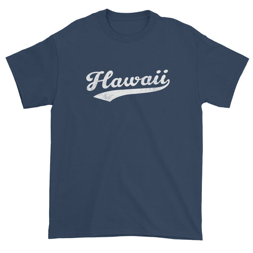 Vintage Hawaii HI T-Shirt with Script Tail Design Adult - JimShorts