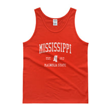 Vintage Mississippi MS Tank Top Adult - JimShorts