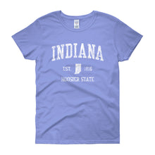 Vintage Indiana IN Women's T-Shirt - JimShorts