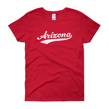 Vintage Arizona AZ Women's T-Shirt with Script Tail Design - JimShorts
