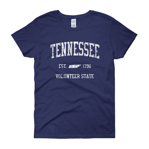 Vintage Tennessee TN Women's T-Shirt - JimShorts