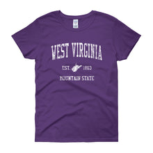 Vintage West Virginia WV Women's T-Shirt - JimShorts