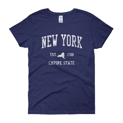 Vintage New York NY Women's T-Shirt - JimShorts