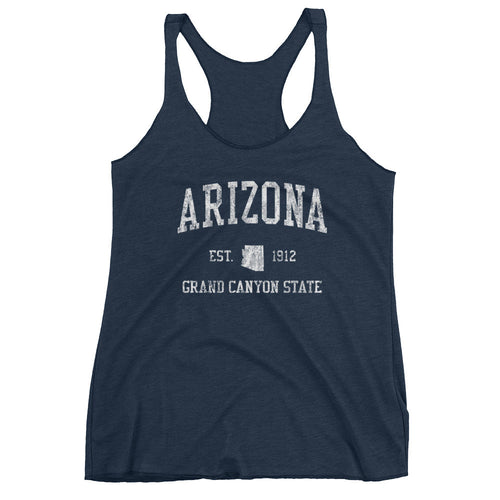 Vintage Arizona AZ Women's Racerback Tank Top