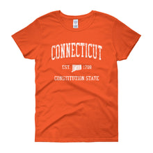 Vintage Connecticut CT Women's T-Shirt - JimShorts