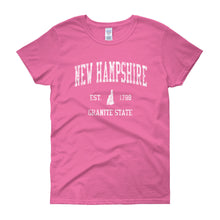 Vintage New Hampshire NH Women's T-Shirt - JimShorts