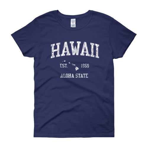Vintage Hawaii HI Women's T-Shirt - JimShorts