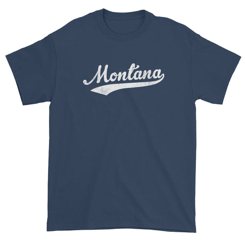 Vintage Montana MT T-Shirt with Script Tail Design Adult - JimShorts