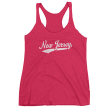 Vintage New Jersey NJ Women's Racerback Tank Top