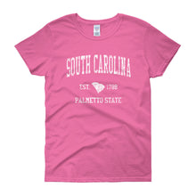 Vintage South Carolina SC Women's T-Shirt - JimShorts
