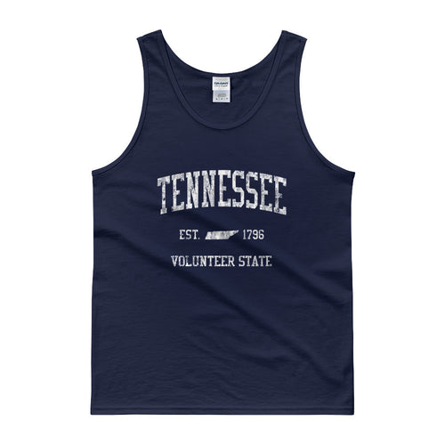 Vintage Tennessee TN Tank Top Adult - JimShorts