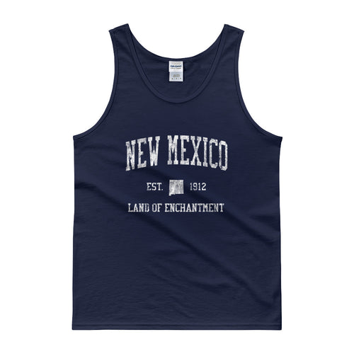 Vintage New Mexico NM Tank Top Adult - JimShorts