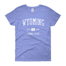 Vintage Wyoming WY Women's T-Shirt - JimShorts