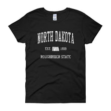 Vintage North Dakota ND Women's T-Shirt - JimShorts