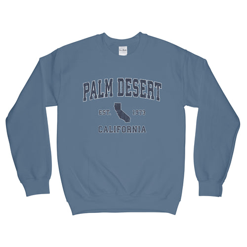 Palm Desert California CA Sweatshirt Vintage Sports Design Adult (Unisex)