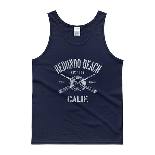 Redondo Beach California CA Tank Top Nautical Boating Design