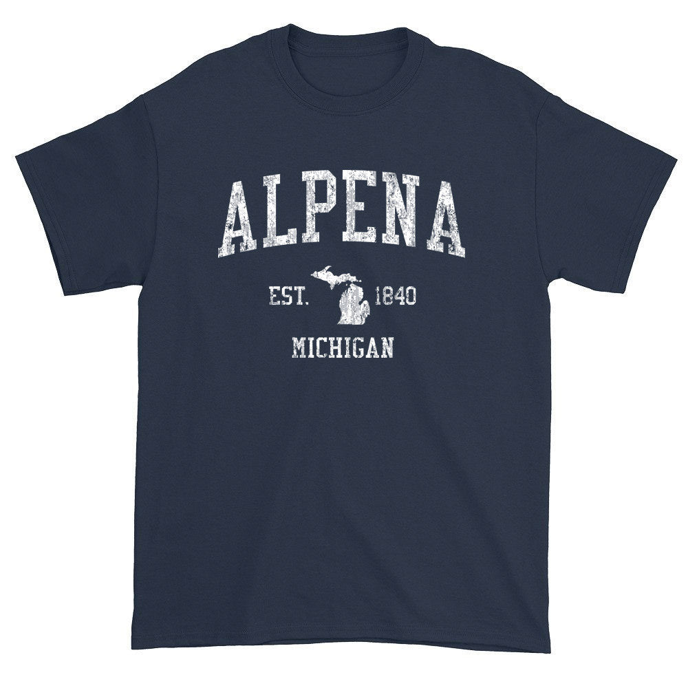 Vintage Alpena Michigan MI T-Shirts