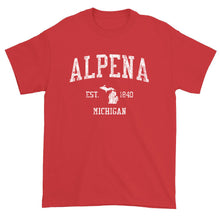 Vintage Alpena Michigan MI T-Shirt Adult