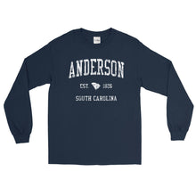 Vintage Anderson South Carolina SC Adult Long Sleeve T-Shirt (Unisex)