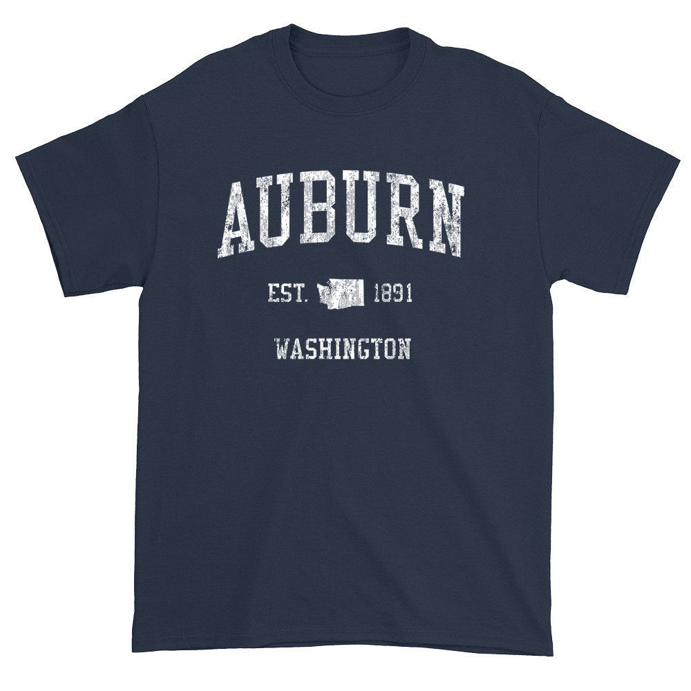 Vintage Auburn Washington WA T-Shirts