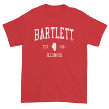 Vintage Bartlett Illinois IL T-Shirt Adult