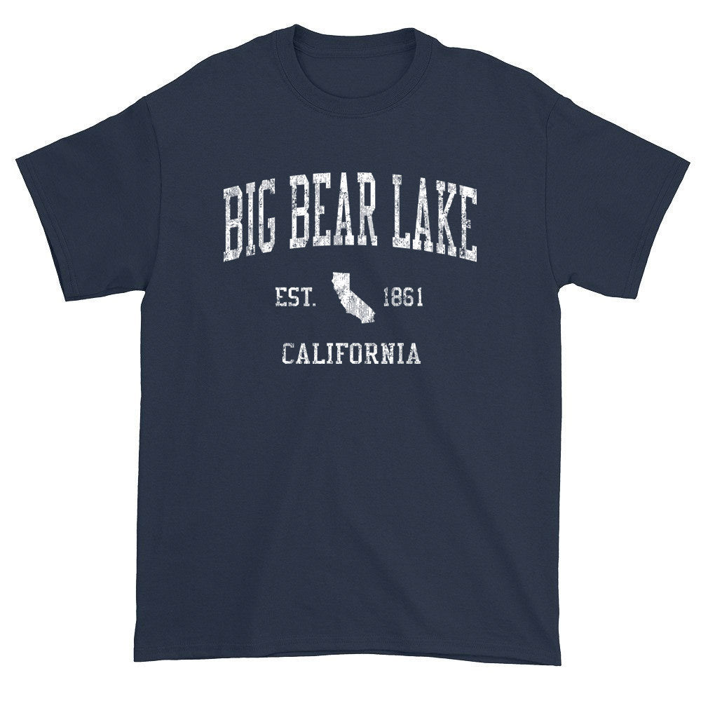 Vintage Big Bear Lake California CA T-Shirts