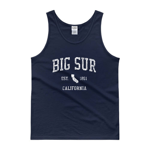 Vintage Big Sur California CA Tank Top Adult
