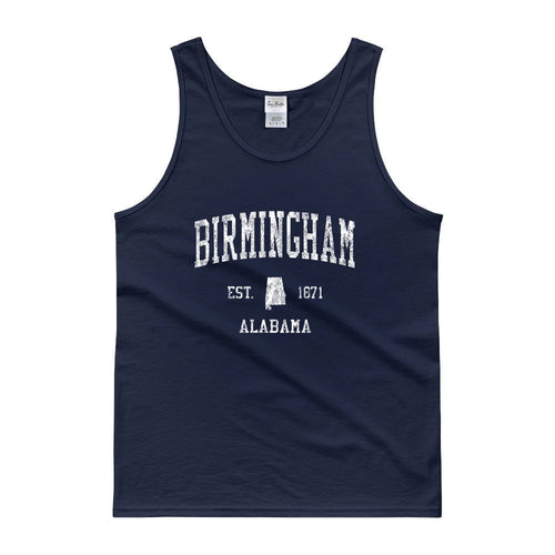 Vintage Birmingham Alabama AL Tank Top Adult
