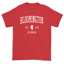 Vintage Bloomington Illinois IL T-Shirt Adult