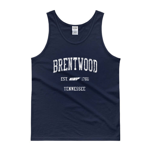 Vintage Brentwood Tennessee TN Tank Top Adult