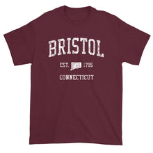 Vintage Bristol Connecticut CT T-Shirt Adult