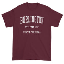 Vintage Burlington North Carolina NC T-Shirt Adult