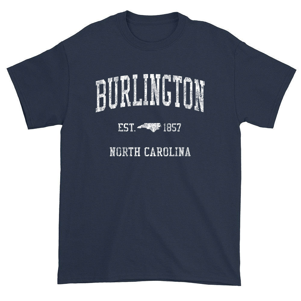 Vintage Burlington North Carolina NC T-Shirts