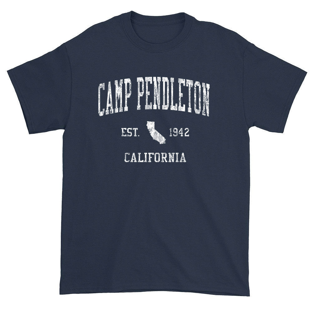 Vintage Camp Pendleton California CA T-Shirts
