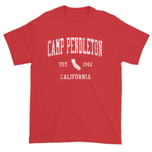 Vintage Camp Pendleton California CA T-Shirt Adult
