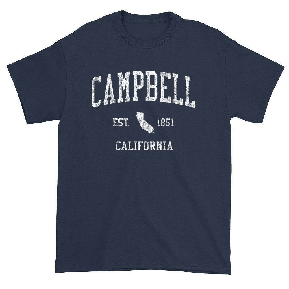 Vintage Campbell California CA T-Shirts